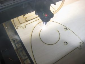 Laser Cutting Model aircraft parts